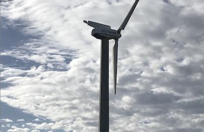 Barwon Water wind turbine