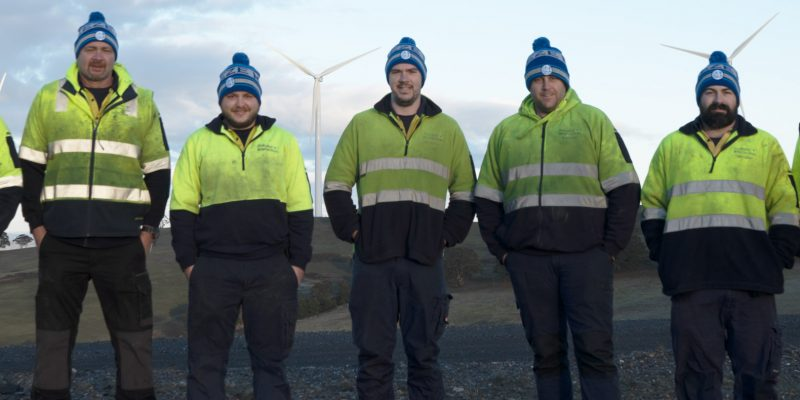 Australian Wind Services team image